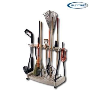 Suncast RTC1000 Tool Rack with Wheels